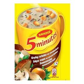 Grybų sriuba su skrebučiais Maggi, 16 g