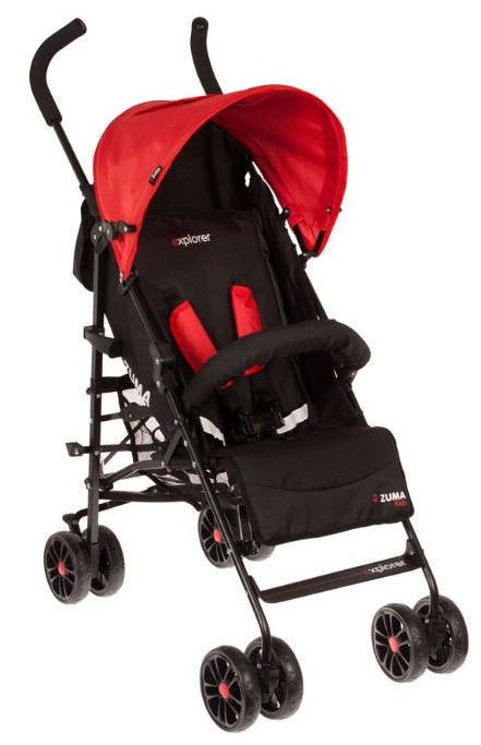 Zuma Kids Explorer Red/Black