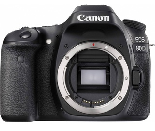 Canon EOS 80D Body Black Demo White Box