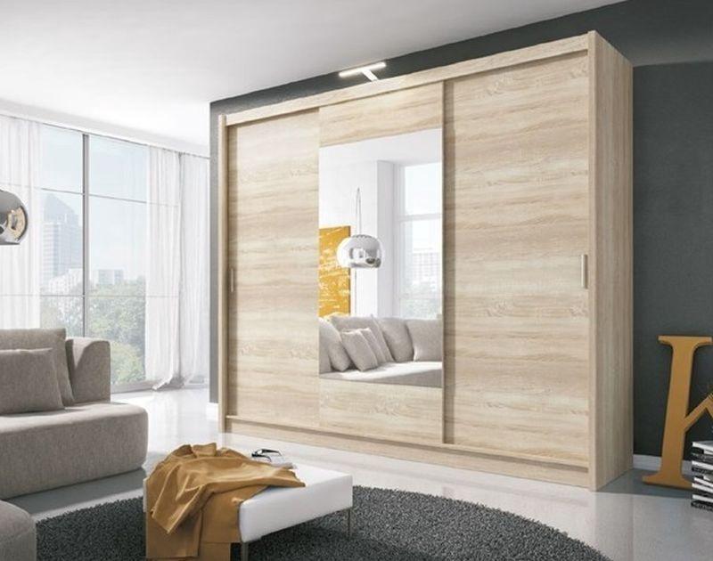 Piaski Wiki 250 Sonoma Oak With Mirror
