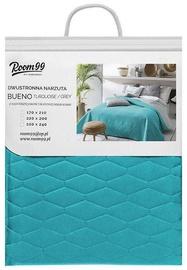 Room99 Bueno Bedspread 200x220cm Turquoise/ Light Grey