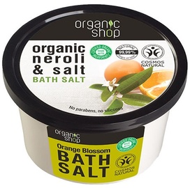 Organic Shop Bath Salt Orange Blossom 250ml
