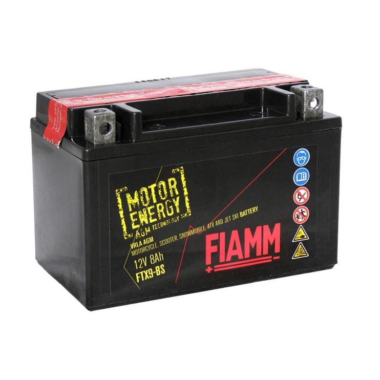 Akumulators Fiamm Moto FTX9-BS, 8 Ah, 120 A, 12 V