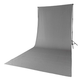 Quadralite Solid Muslin Backdrop 2,85x6m Grey