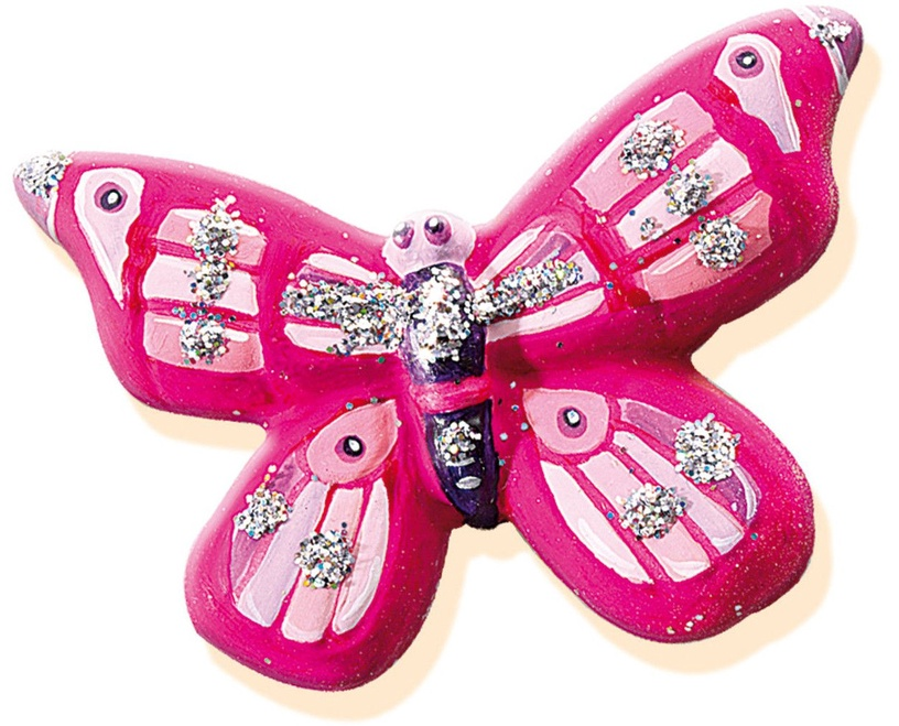 SES Creative Butterfly Glitter Casting & Painting Set 01131