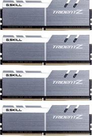 G.SKILL Trident Z Silver/White Series 32GB 3600MHz CL16 DDR4 KIT OF 4 F4-3600C16Q-32GTZSW