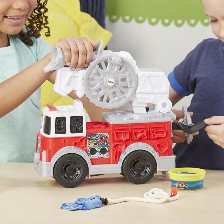 Rinkinys Hasbro Play-Doh Wheels Firetruck