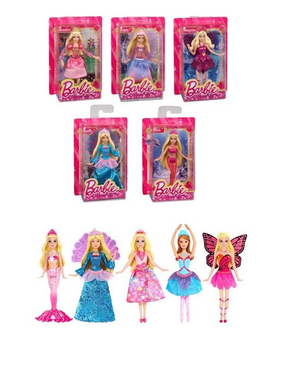 Barbie komplekt mini