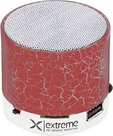 Belaidė kolonėlė Esperanza XP101 Flash Bluetooth Speaker Red