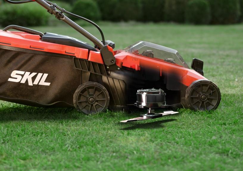 Аккумуляторная газонокосилка Skil GM1E0130BA