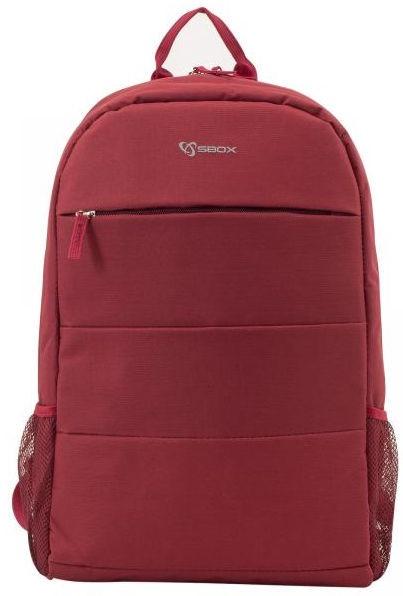 Рюкзак Sbox Toronto, красный, 15.6″