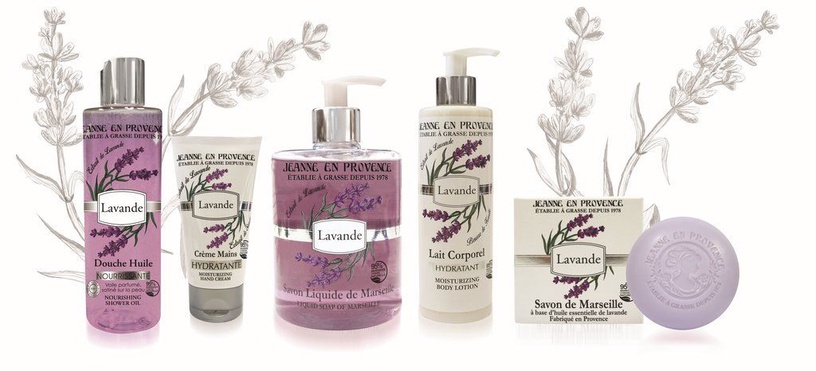 Jeanne en Provencee Lavender Hand Cream 75ml