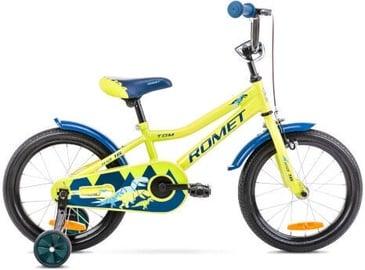 Vaikiškas dviratis Romet Tom 16 9'' Green/Blue 2021
