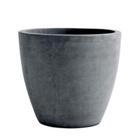 Keter Beton Planter Round L Dark Grey