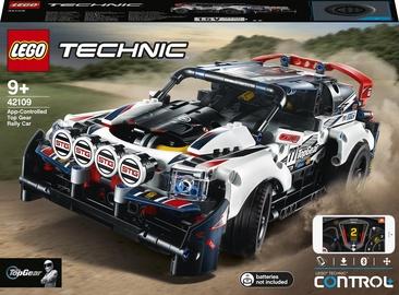 Конструктор LEGO Technic Гоночный автомобиль Top Gear на управлении 42109, 463 шт.