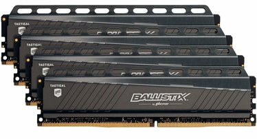 Crucial Ballistix Tactical Gray 32GB 2666MHz DDR4 CL16 KIT OF 4 BLT4K8G4D26AFTA