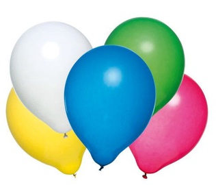 Susy Card Party Balloons Assorted 50pcs