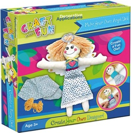 Craft With Fun Decorative Applications Angel Doll 325664