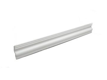 Lubų apdailos juostelės 06004 E, balta, 200 x 3.7 cm