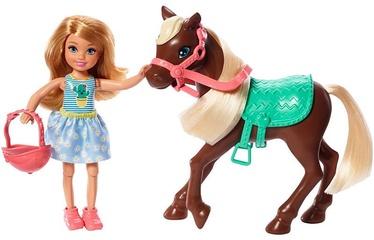 Mattel Barbie Barbie Chelsea Doll & Pony Blonde GHV78