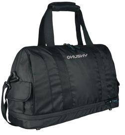 Спортивная сумка Husky Glint 27/33, черный, 33 л