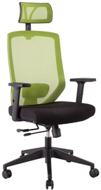 Biroja krēsls Home4you Joy Black/Green
