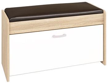 ML Meble Shoe Shelf Pik 05 White