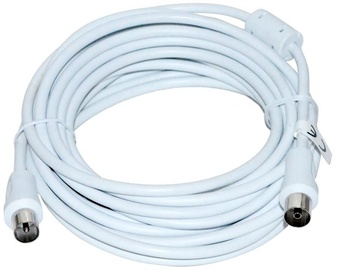 Vakoss Coaxial Cable Coax to Coax White 5m