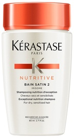 Šampūnas Kerastase Nutritive Bain Satin 2 Irisome Dry, 80 ml