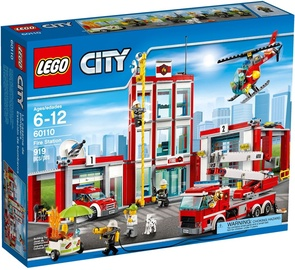 Konstruktor Lego City 60110 Tuletõrjedepoo