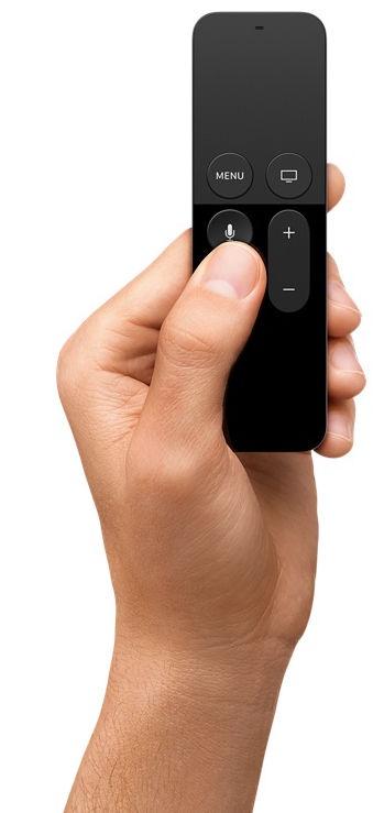 Apple TV Siri nuotolinio valdymo pultas