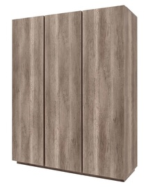 Black Red White Anticca 3D Wardrobe Monument Oak