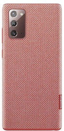 Samsung Kvadrat Back Case For Samsung Galaxy Note 20 Red