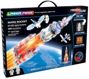Laser Pegs Mars Rocket 18000