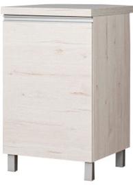 Bodzio Monia Bottom Cabinet 50 Right Pearl Soma Oak