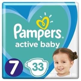 Подгузники Pampers Active Baby, 7, 33 шт.