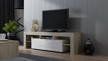 TV galds Pro Meble Milano 160 Sonoma Oak/White, 1600x350x450 mm