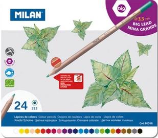 Milan Big Lead Colour Pencils 24pcs 80058