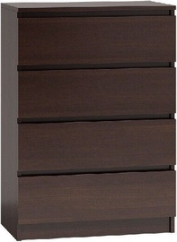 Top E Shop Malwa M4 Chest of 4 Drawers Wenge