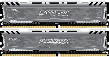 Crucial Ballistix Sport LT Gray 16GB 3000MHz CL16 DDR4 KIT OF 2 BLS2K8G4D30BESBK
