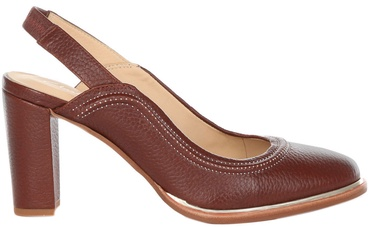 Clarks Ellis Ivy Womens Shoes 26132003 Brown Leather 38