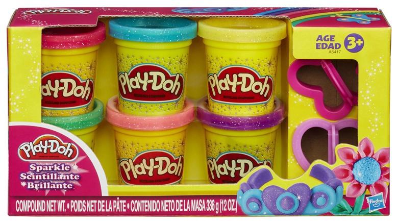Žaislinis modelino rinkinys Playdoh, Waba Fun A5417, 336 g, 6vnt