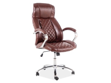 Signal Meble Q-557 Office Chair Brown