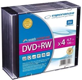 Esperanza DVD+RW 4.7GB 4x 10pcs