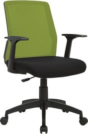 Home4you Office Chair Alpha Black/Green 21142