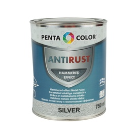 Krāsa metāla virsmām Pentacolor sudraba 750ml