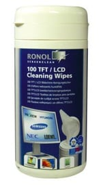 Ronol Moist TFT/LCD/PLASMA Cleaning Wipes 100 pcs