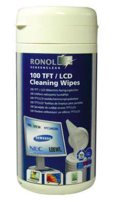 Ronol Moist TFT/LCD/PLASMA Cleaning Wipes 100 pcs