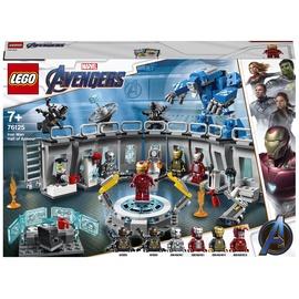 Конструктор LEGO® Super Heroes Marvel Avengers Лаборатория Железного Человека 76125, 524 шт.