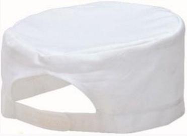 Viesnīcu Tekstils Cooks Hat S899 S/M White